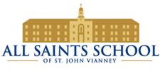 All Saints School of St. John Vianney Logo